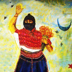 Comandanta Ramona mural