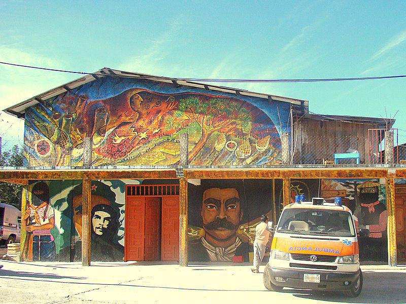 Zapatista health care center
