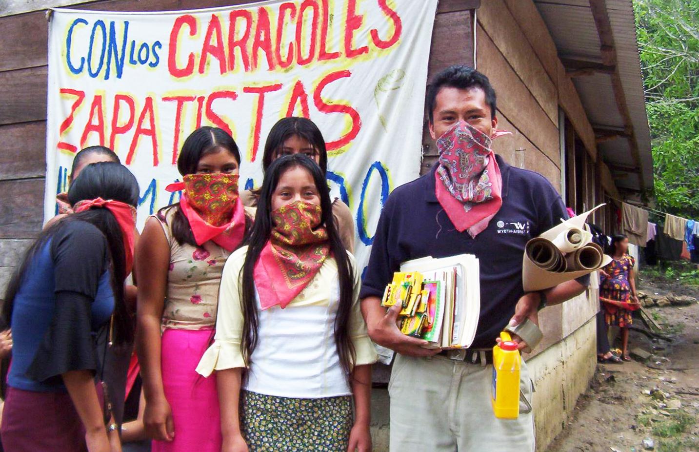 Zapatista teachers