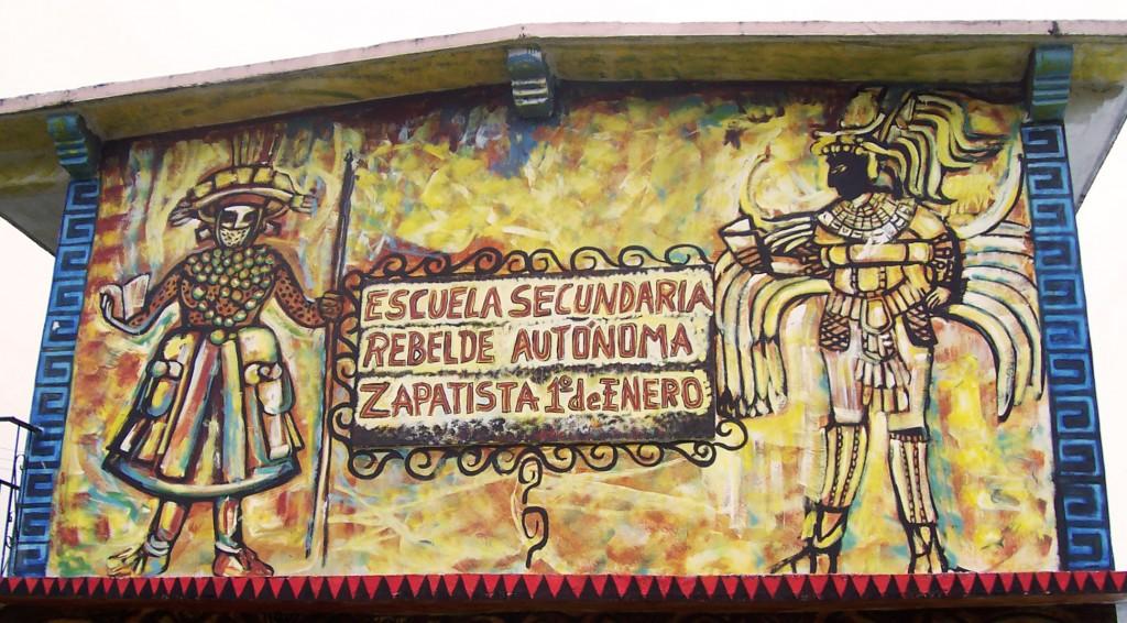Zapatista secondary school in Chiapas