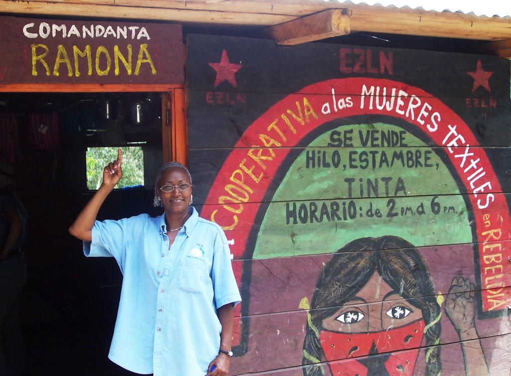Teacher visits Zapatista coop