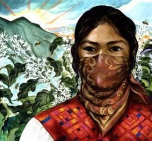 Zapatistas wear masks to show they are social activists working for a better world.