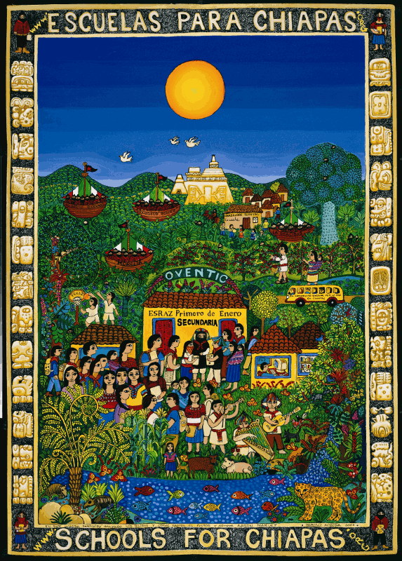 Schools for Chiapas Poster