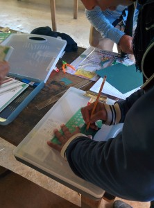Zapatista students and education promoters design their Food Forests during quarterly workshops.