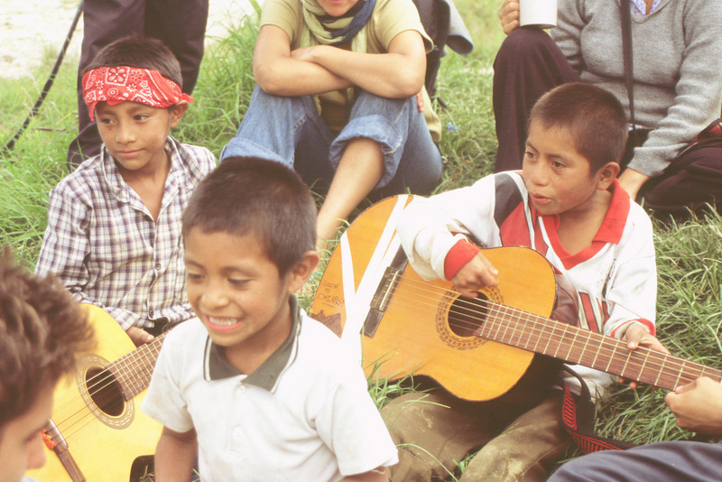 Music education is a central part of Zapatista education.