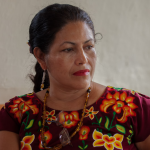 Lucilla Bettina Cruz Valazquez is one of the three representatives of the Indigenous Governing Council of Mexico that is visiting 15 cities in the USA from Jan. 15 to Jan. 22, 2018.