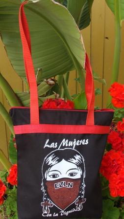 Zapatista women's tote bag